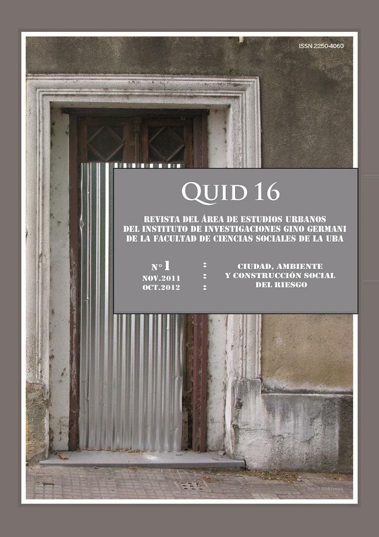 Quid 16 N°1 (Nov.2011-Oct.2012)